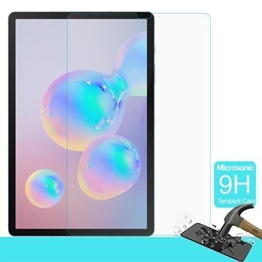 """Microsonic Samsung Galaxy Tab S6 10.6"""" T860 Temperli Cam Ekran Koruyucu Renksiz"""
